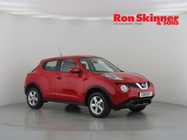 View our 2018 18 NISSAN JUKE 1.6 VISIA 5d 94 BHP