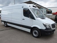 USED 2015 15 MERCEDES-BENZ SPRINTER 313 CDI LWB FREEZER WITH STANDBY, 130 BHP [EURO 5]