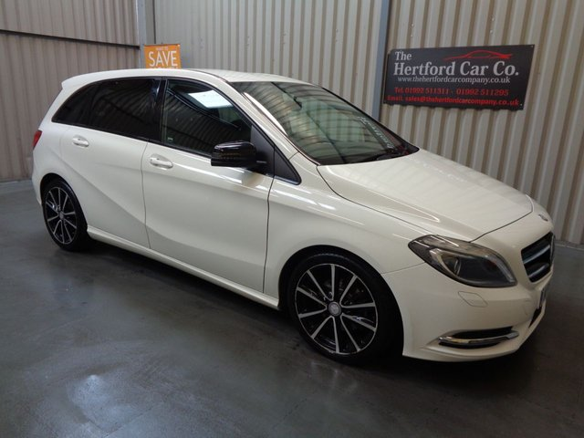 2014 14 MERCEDES-BENZ B CLASS 1.8 B200 CDI BLUEEFFICIENCY SPORT 5d AUTO 136 BHP