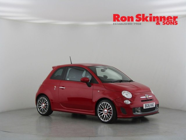 View our 2016 16 ABARTH 500 1.4 595 TURISMO 3d 158 BHP