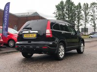 USED 2009 09 HONDA CR-V 2.2 I-CTDI EX 5d 139 BHP NAVIGATION SYSTEM *  BLUETOOTH *  PANORAMIC ROOF *   PRIVACY GLASS *  18 INCH ALLOYS *  PARKING AID *  MOT APRIL 2020 *