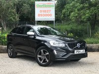 USED 2014 64 VOLVO XC60 2.4 D5 R-DESIGN NAV AWD 5dr AUTO Sat Nav, Half Leather, Climate