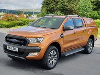 2016 FORD RANGER 3.2 WILDTRAK 4X4 DCB TDCI 1d AUTO 197 BHP £18750.00