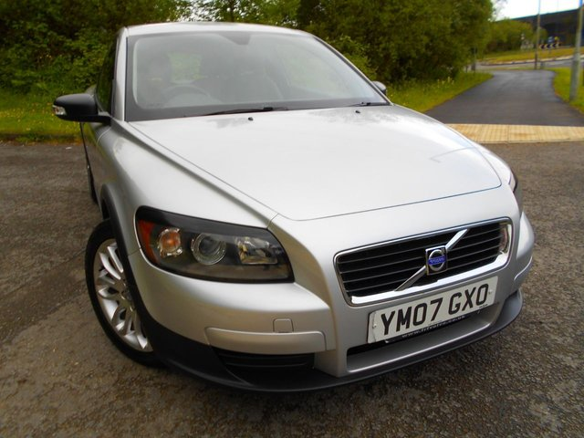2007 07 VOLVO C30 1.8 S 3d 124 BHP ** ELECTRIC WINDOWS, ALLOY WHEELS, 2 KEYS, PART EXCHANGE TO CLEAR , BARGAIN £2995.00 **