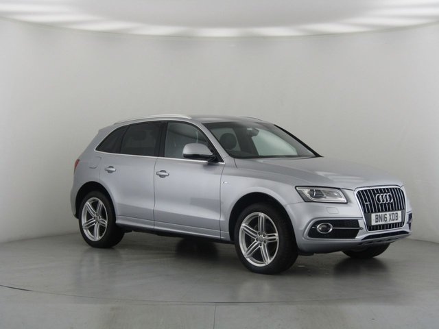 View our 2016 16 AUDI Q5 2.0 TDI QUATTRO S LINE PLUS 5d 148 BHP