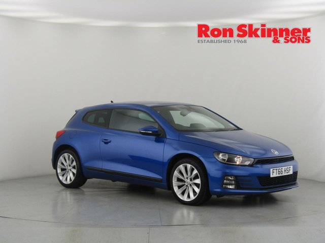 View our 2016 66 VOLKSWAGEN SCIROCCO 2.0 GT TDI BLUEMOTION TECHNOLOGY 2d 150 BHP