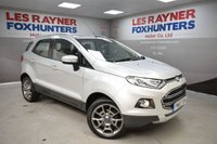 USED 2015 65 FORD ECOSPORT 1.5 TITANIUM 5d AUTO 110 BHP Full Ford Service history, Half Leather, 1 Owner, Bluetooth