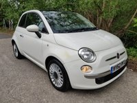 2012 FIAT 500 0.9 LOUNGE 3d 85 BHP £3990.00