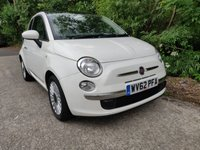 USED 2012 62 FIAT 500 0.9 LOUNGE 3d 85 BHP