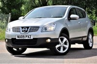 USED 2009 09 NISSAN QASHQAI 1.5 dCi Acenta 2WD 5dr 1 yrs mot low cost motoring