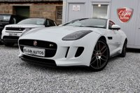 USED 2014 14 JAGUAR F-TYPE R 5.0 Supercharged V8 Auto 2dr ( 550 bhp ) One Previous Owner Full Jaguar History Over £4,350 Extras Super Spec Cost Just Under £90k New