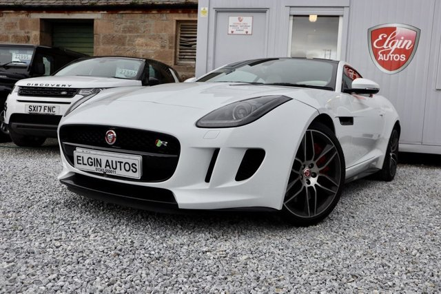 2014 14 JAGUAR F-TYPE R 5.0 Supercharged V8 Auto 2dr ( 550 bhp )