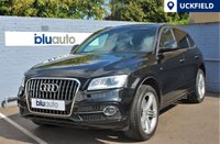USED 2015 15 AUDI Q5 2.0 TDI QUATTRO S LINE PLUS 5d AUTO 187 BHP Supplied with a Full Audi Service History; Satellite Navigation, Full Leather Interior with Heated Seats, Front & Rear Parking Sensors, Dual Climate & Cruise Control...