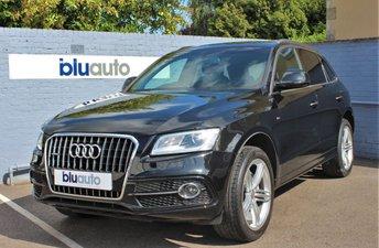 2015 AUDI Q5 2.0 TDI QUATTRO S LINE PLUS 5d AUTO 187 BHP £21880.00