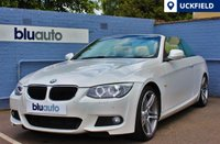 USED 2011 11 BMW 320d M SPORT CABRIOLET 2d AUTO 181 BHP A truly immaculate BMW 3-Series Convertible with Full BMW History, Front & Rear Sensors, Satellite Navigation, Full Leather Interior, Heated Electric Front Seats and Bluetooth Connectivity...