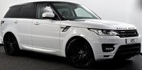 "USED 2015 15 LAND ROVER RANGE ROVER SPORT 3.0 SD V6 HSE 4X4 (s/s) 5dr Pan Roof, Black Pack, 22""s ++"