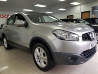 USED 2010 10 NISSAN QASHQAI 1.5 ACENTA DCI 5d+SERVICE HISTORY+BLUETOOTH+CRUISE CONTROL+