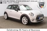 USED 2015 65 MINI HATCH COOPER 1.5 COOPER 3DR CHILI PACK 1 OWNER LOW MILES 1 OWNER HALF LEATHER SERVICE HISTORY + £20 12 MONTHS ROAD TAX + BLUETOOTH + CRUISE CONTROL + CLIMATE CONTROL + MULTI FUNCTION WHEEL + DAB RADIO + ELECTRIC WINDOWS + RADIO/CD/AUX/USB + ELECTRIC MIRRORS + 18 INCH ALLOY WHEELS