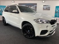 USED 2015 15 BMW X5 3.0 XDRIVE30D M SPORT 5d AUTO 255 BHP HUGE SPEC, F/S/H, IMMACULATE!!