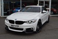 2017 BMW 4 SERIES 2.0 420D M SPORT GRAN COUPE 4d AUTO 188 BHP £21490.00