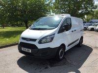2014 FORD TRANSIT CUSTOM 2.2 290 LR P/V 1d 124 BHP Fridge/Freezer Van £9995.00