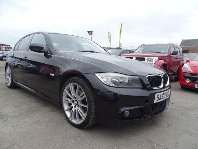 USED 2010 60 BMW 3 SERIES 2.0 320D M SPORT FULL SERVICE DRIVES MINT