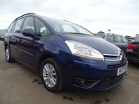 2007 CITROEN C4 GRAND PICASSO 1.8 VTR PLUS 7 SEATER  £1495.00