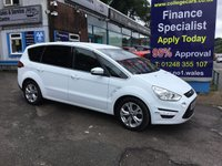 USED 2013 63 FORD S-MAX 1.6 TITANIUM TDCI S/S 5d 115 BHP, ONLY 69000 MILES ***APPROVED DEALER FOR CAR FINANCE247 AND ZUT0  ***