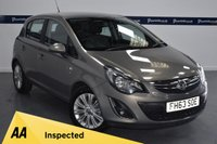 USED 2014 63 VAUXHALL CORSA 1.4 SE 5d 100 BHP (ONLY 35,000 MILES WITH FULL VAUXHALL HISTORY)