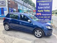 USED 2015 15 DACIA SANDERO 0.9 LAUREATE PRIME TCE 5d 90 BHP, ONLY 30000 MILES ***APPROVED DEALER FOR CAR FINANCE247 AND ZUTO  ***