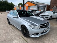 2010 MERCEDES-BENZ C CLASS 2.1 C220 CDI BLUEEFFICIENCY SPORT 4d 170 BHP £5450.00