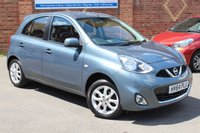 USED 2014 64 NISSAN MICRA 1.2 ACENTA 5d 79 BHP Automatic