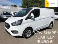 2018 FORD TRANSIT CUSTOM 2.0 300 LIMITED L1 H1 1d 129 BHP *06/2021 WARRANTY* £13995.00