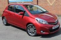 USED 2014 14 TOYOTA YARIS 1.3 VVT-I ICON PLUS 5d 99 BHP GRATE CAR *1 OWNER *