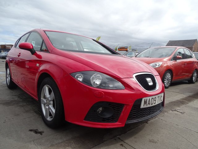USED 2009 09 SEAT LEON 1.9 EMOCION TDI LOOKS GREAT