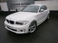 2013 BMW 1 SERIES 2.0 118D EXCLUSIVE EDITION 2dr £7000.00