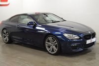 USED 2012 61 BMW 6 SERIES 3.0 640D M SPORT 2d AUTO 309 BHP LOW MILES + 20 INCH ALLOYS + PANORAMIC ROOF + CREAM LEATHER