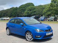 USED 2013 62 SEAT IBIZA 1.6 CR TDI FR 3d 104 BHP TAILOR MADE FINANCE PACKAGES. X2 KEYS, £30 ROAD TAX, CRUISE CONTROL, SPORTS FRONT SEATS, FULL FR KITS