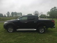 USED 2018 18 MITSUBISHI L200 2.4 DI-D 4WD WARRIOR DCB 1d AUTO 178 BHP