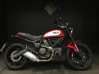 USED 2016 16 DUCATI SCRAMBLER 803 ICON. 2016. 3643 MILES. 2 SERVICES. ABS. RED.