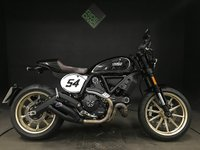 USED 2017 67 DUCATI SCRAMBLER CAFE RACER 803cc. 2017. 1 OWNER. 1081 MILES. 2 SERVICES