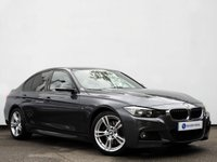 USED 2015 65 BMW 3 SERIES 3.0 330D M SPORT 4d AUTO 255 BHP PROFESSIONAL NAVIGATION with HEATED LEATHER & BLUETOOTH AUDIO......