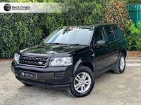 USED 2013 13 LAND ROVER FREELANDER 2.0 Td4 2.2 TD4 BLACK AND WHITE 5d 150 BHP