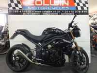 USED 2012 12 TRIUMPH SPEED TRIPLE 1050cc  HP CORSE EXHAUST!!!