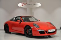 USED 2015 15 PORSCHE 911 3.8 991 TARGA 4 GTS PDK 2d AUTO 430 BHP 1 LADY OWNER BIG SPECIFICATION