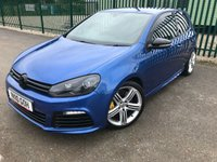 2010 VOLKSWAGEN GOLF 2.0 R 3d 270 BHP ALLOYS SPORT EXHAUST CRUISE LEATHER FSH LOW MILES A/C MOT 12/19 £12790.00