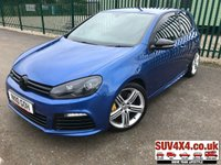 USED 2010 10 VOLKSWAGEN GOLF 2.0 R 3d 270 BHP ALLOYS SPORT EXHAUST CRUISE LEATHER FSH LOW MILES A/C MOT 12/19 STUNNING BLUE MET WITH FULL BLACK SPORTS LEATHER TRIM. UPGRADED EXHAUST. CRUISE CONTROL. 18 IN ALLOY WHEELS. COLOUR CODED TRIMS. PRIVACY GLASS. PARKING SENSORS. BLUETOOTH PREP. CLIMATE CONTROL WITH AIR CON. R/CD PLAYER. MFSW. MOT 12/19. FULL SERVICE HISTORY. LOW MILES. SUV & 4X4 CAR CENTRE LS23 7FR. TEL 01937 849492 OPTION 2