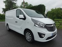USED 2016 16 VAUXHALL VIVARO 2700 L1 SWB SPORTIVE 1.6 CDTI 115 BHP Top Of Range Model Direct From Leasing Company 25000 Miles And Full Service History!