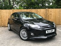 USED 2012 12 FORD FOCUS 1.6 ZETEC S TDCI 5d 113 BHP Bluetooth Media Player, Rear Parking Sensors
