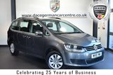 "USED 2015 15 VOLKSWAGEN SHARAN 2.0 SE TDI 5DR 7SEATER 142 BHP full service history *NO ADMIN FEES* FINISHED IN STUNNING GREY WITH CLOTH UPHOLSTERY + FULL SERVICE HISTORY + TELEPHONE CONNECTION  + DAB RADIO + CRUISE CONTROL + CLIMATE CONTROL + HEATED MIRRORS + 7 SEATS + AIR CONDITIONING + AUX PORT + PARKING SENSORS + 16"" ALLOY WHEELS"